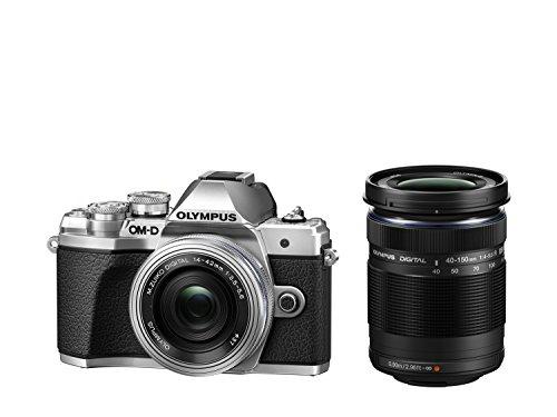 オリンパス デジタル一眼カメラ「OM-D E-M10 MarkIII」ダブルズームキット(シルバー) OM-D E-M10MK3WZK SLV