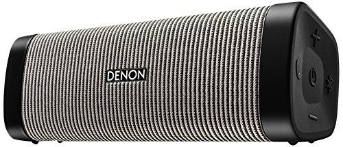 DENON ポータブルワイヤレススピーカー Envaya BluetoothR対応 IPX7 防水/IP6X 防塵 aptX対応 ブラック/グレー DSB-250BT-BG