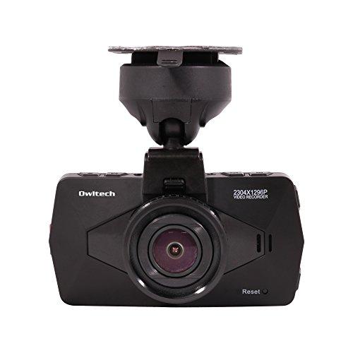 オウルテック GPS付き スーパーHD 超高解像度 超広角135° ドライブレコーダー ブラック OWL-DR06-BK