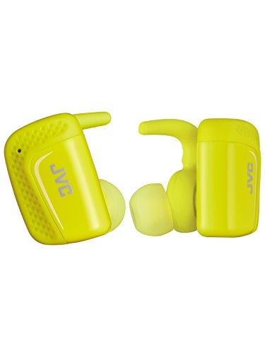 JVC HA-ET900BT 完全ワイヤレスイヤホン Bluetooth/防水(IPX5対応)/最大9時間再生 イエロー HA-ET900BT-Y