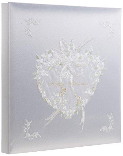 ナカバヤシ フエルアルバム 婚礼用 ハッピーマリッジ ホワイト ア-OLK-107 N-W