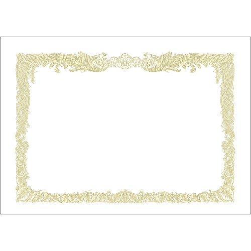 タカ印 厚口OA賞状用紙 10-1380 縦書き A3 100枚入 白