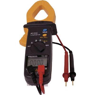 TRUSCO クランプメーター 交流・直流電流測定用 TC03