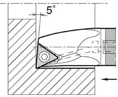 京セラ 内径加工用ホルダ  E16XSTLPR1118A23