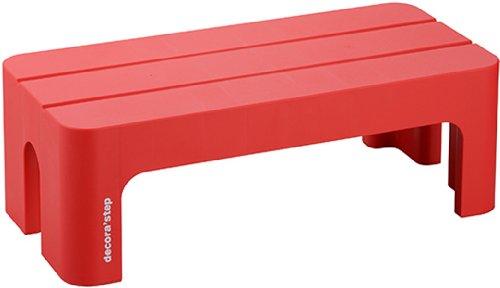 新作通販 デコラステップ L DS-LRE レッド 豪華な