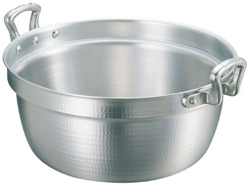 アルミ キング 打出 料理鍋(目盛付)42cm