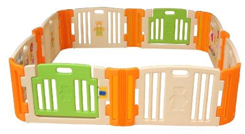 JTC ベビールーム 8枚パネルセット 安心して赤ちゃんや幼児を遊ばせることができるプレイヤード