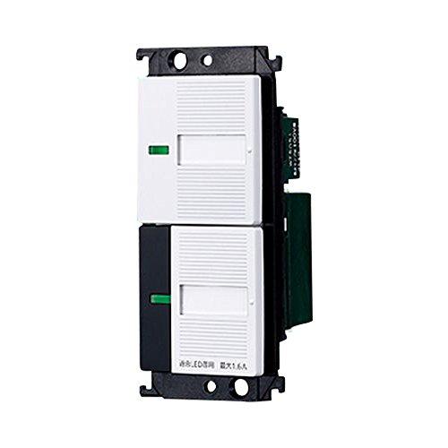 Panasonic コスモシリーズワイド21 照明リモコン受信スイッチ(ほたるスイッチB付)ホワイト WTC55716W