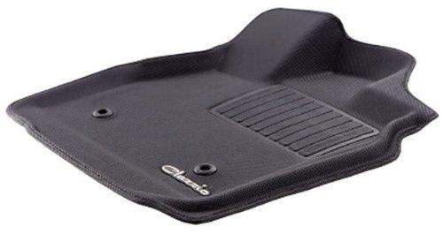 クラッツィオ ( Clazzio ) フロアマット【立体タイプ】トヨタ ハイエース バン / レジアスエース バン H200系 S-GL (フロント用) ラバータイプ (ブラック) ET-0101-R