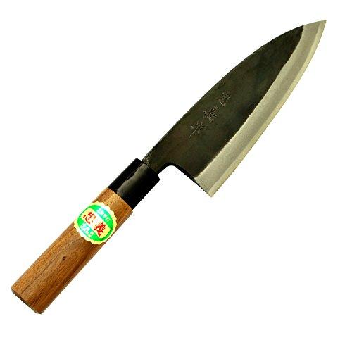 土佐刃物 包丁 黒打ち 出刃包丁 青鋼 1号 165mm