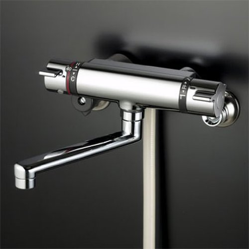 KVK サーモスタット式シャワー混合水栓 寒冷地用 KF800WT