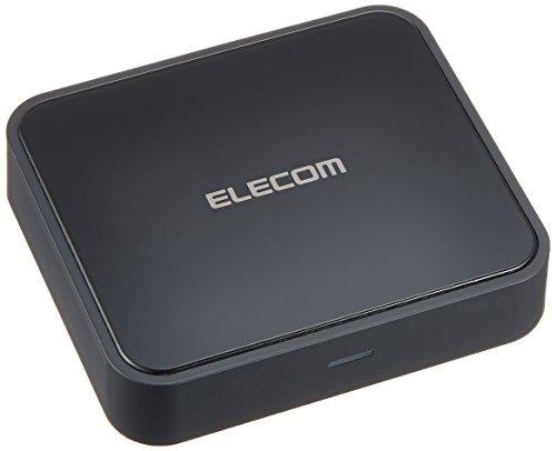 ELECOM エレコム iPhone6s/6s Plus対応 Bluetooth オーディオレシーバーBOX NFCペアリング機能搭載 高音質コーデックAAC/aptX対応 光デジタル出力搭載 LBT-AVWAR700