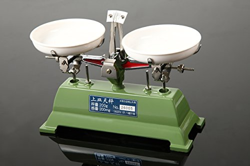 YAWATA 上皿天秤 秤量200g 分銅セットなし U-200G