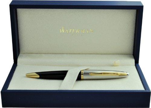 ウォーターマン ボールペン カレン デラックス ブラック&シルバーGT S2228342 正規輸入品