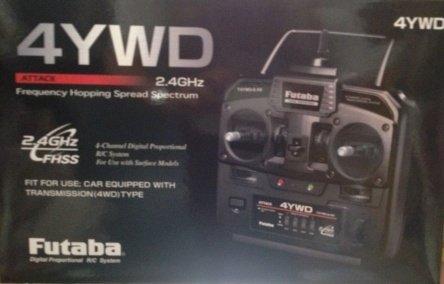 ATTACK 4YWD (2.4GHz) :S3003x3付セット 025884