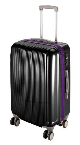 キャプテンスタッグ グレル トラベルスーツケース TSAロック付きWFタイプ S ブラック UV-33