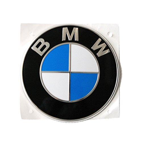 BMW純正部品(ドイツ直輸入) 82mm エンブレム セット (F20 F21フロント/リア、F30 F31 F32 F34フロント) 51767288752