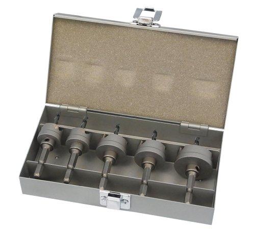ユニカ 超硬ホールソー メタコア充電 ツールボックスセット TB-24