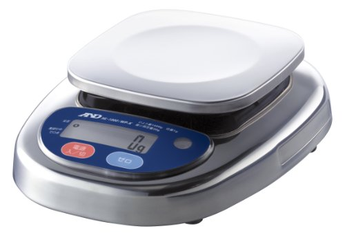 A&D 取引証明用 防塵・防水デジタルはかり HL1000iWP-K-A3 (検定付 注:使用できる都道府県に限りがあります)