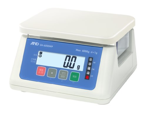 A&D デジタル防水はかり SH-6000WP