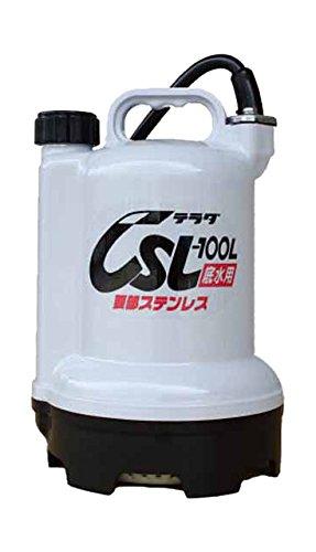 寺田 要部ステンレス水中ポンプ 底水用 60Hz CSL100L