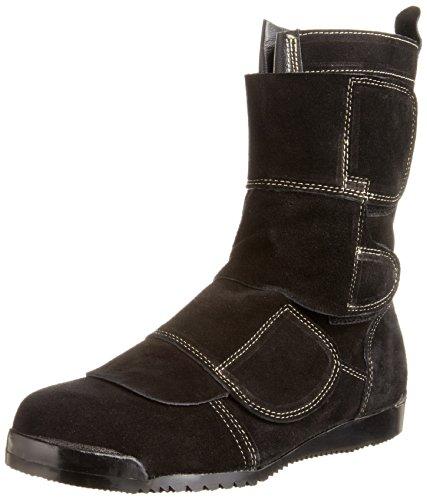 [ノサックス] Nosacks 溶接作業用安全靴 鍛冶鳶 KT207 BK(黒/26.5cm)