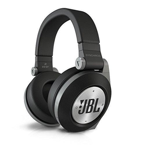 JBL Synchros E50BT ワイヤレスヘッドホン 密閉型/オーバーイヤー/Bluetooth ブラック E50BTBLK 【国内正規品】