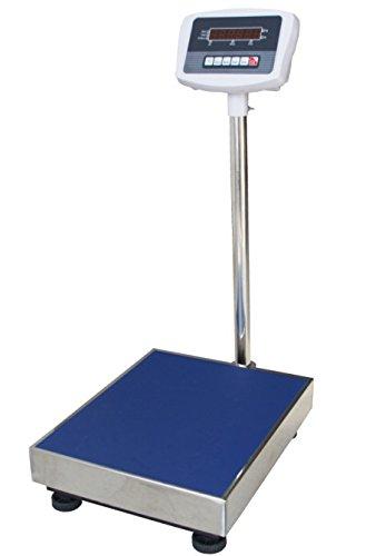 デジタル台はかり 200kg/0.04kg 防塵タイプ バッテリー内蔵充電式 ステンレストレー付 246919-01