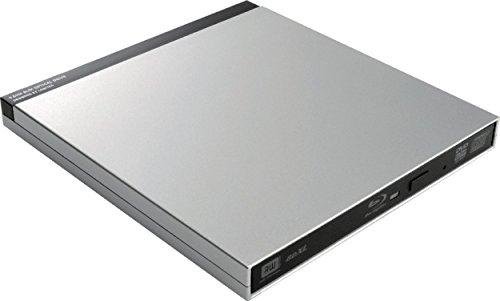 ロジテック(エレコム) Blu-rayディスクドライブfor MacUSB3.0スリム/シルバー LBD-PUB6U3MSV