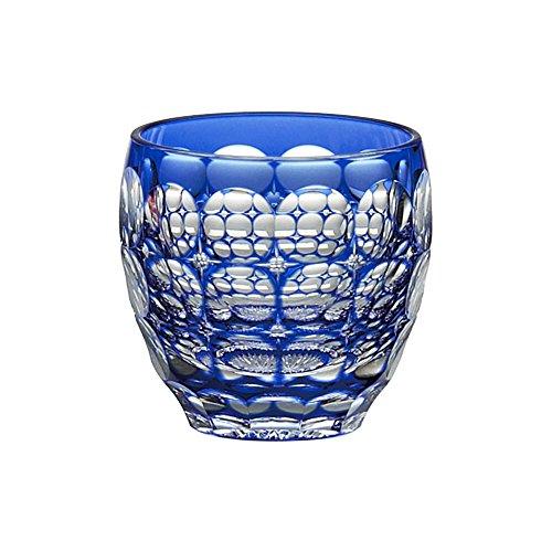 カガミクリスタル 冷酒杯(紫陽花) 80cc 江戸切子 伝統工芸士鍋谷聰 T535-2684CCB