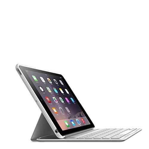 【国内正規代理品】 Belkin ベルキン QODE iPad Air2対応Ultimate Proキーボードケース(ホワイト) F5L176QEWHT