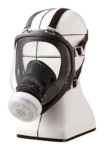 シゲマツ 直結式小型全面形防毒マスク GM166