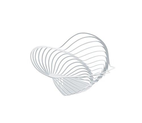 【正規輸入品】 ALESSI アレッシィ TRINITY シトラスバスケット Sサイズ/ホワイト ACO04/12 W