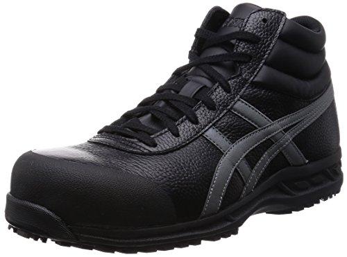 [アシックスワーキング] asicsworking 安全靴作業靴ウィンジョブ 71S FFR71S 9075(ブラック/ガンメタ/27.5)