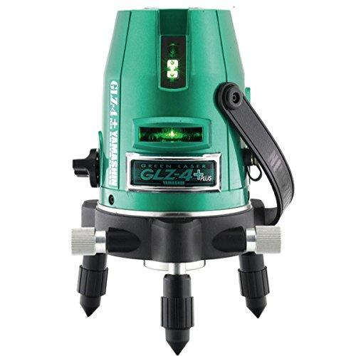 山真 グリーンレーザー墨出し器 本体+受光器