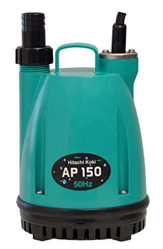 日立工機 水中ポンプ 吐出量15L/分 口径15mm/25mm共用 AP150 60Hz