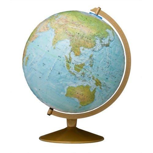 リプルーグル地球儀/球径30cm/ワールド・オーシャン・シリーズ マリナー型 英語版