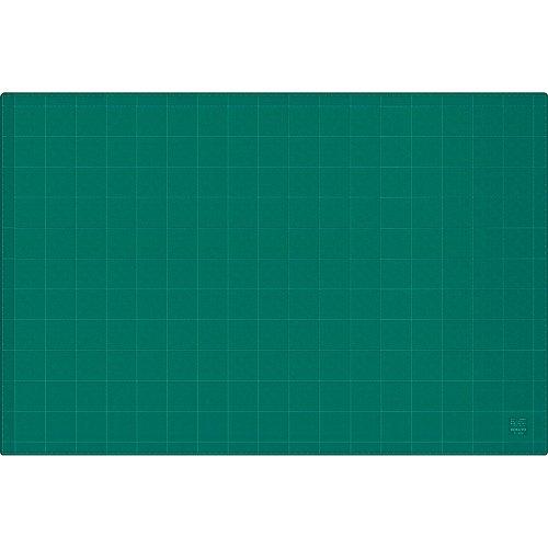 コクヨ カッティングマット 3mm厚 グリーン 両面 方眼罫 600×900mm マ-44N