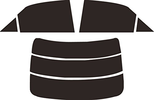 ミラリード(MIRAREED) ウインドウフィルム 販売ルート限定 失敗安心サービス付 カット済みフィルム トヨタ マークX H21/10~ X130系 貼りやすい赤外線カットHC スーパーブラック A012534