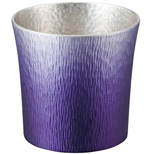 錫製タンブラー 310ml 紫