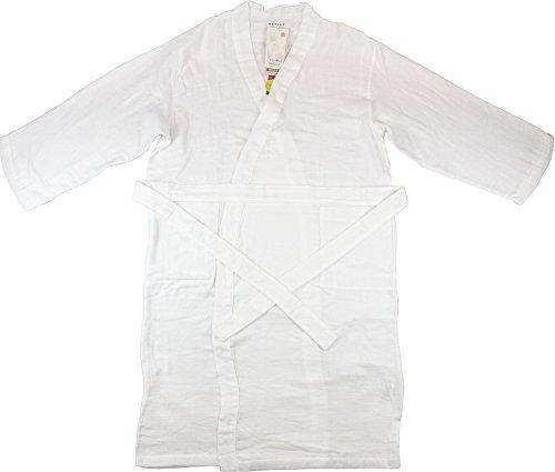 UCHINO マシュマロガーゼ ローブ N (M) ホワイト RR13689M W