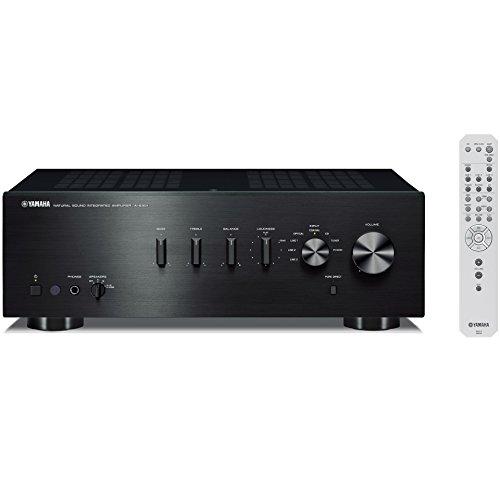 ヤマハ プリメインアンプ 192kHz/24bit ハイレゾ音源対応 ブラック A-S301(B)