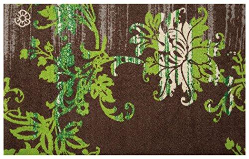 クリーンテックス wash+dry(ウォッシュ アンド ドライ) 玄関マット Elisa taupe 75×120cm