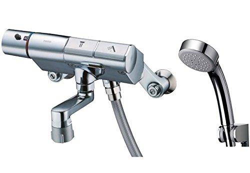 TOTO 浴室用水栓 タッチスイッチ 吐水パイプ70mm TMN40STE3 (エアインシャワー・めっき丸型)