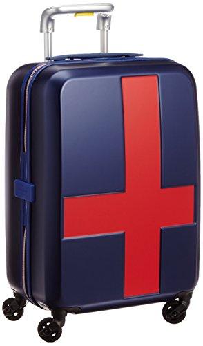 [イノベーター] innovator スーツケース 38L 2.7kg 2年保証 トートバッグ付 INV48T MATTE NAVY/RED (マットネイビーxレッド)