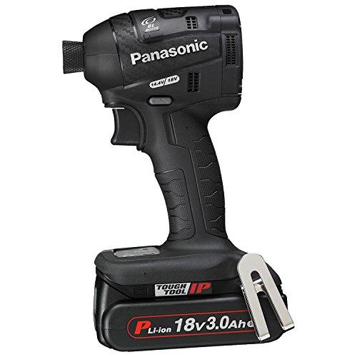 パナソニック(Panasonic) 充電インパクトドライバー 18V 3.0Ah 黒 EZ75A7PN2G-B