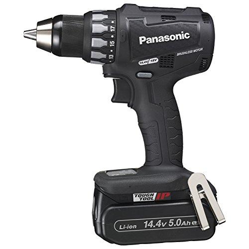 パナソニック(Panasonic) 充電ドリルドライバー 14.4V 5.0Ah 黒 EZ74A2LJ2F-B