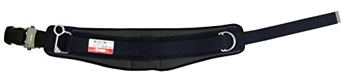 マーベル MATX-250HB 幅広柱上安全帯用ベルト(調整機能付ワンタッチバックル) 黒