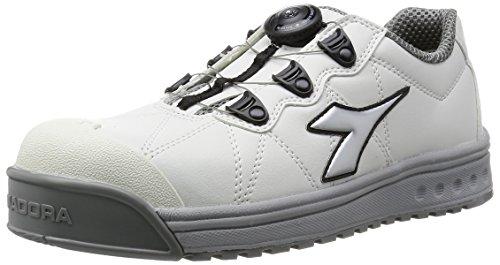ディアドラユーティリティ DIADORA UTILITY 大幅にプライスダウン 作業靴 スニーカー 25.5 フィンチ ホワイトシルバーホワイト FC181 大好評です