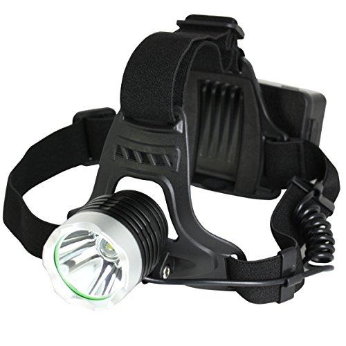 [LAD WEATHER] 超輝度LEDヘッドランプ 800ルーメン スマホ/スマートフォン充電 アウトドア/キャンプ/登山 災害/震災/防災 ライト/ランプ